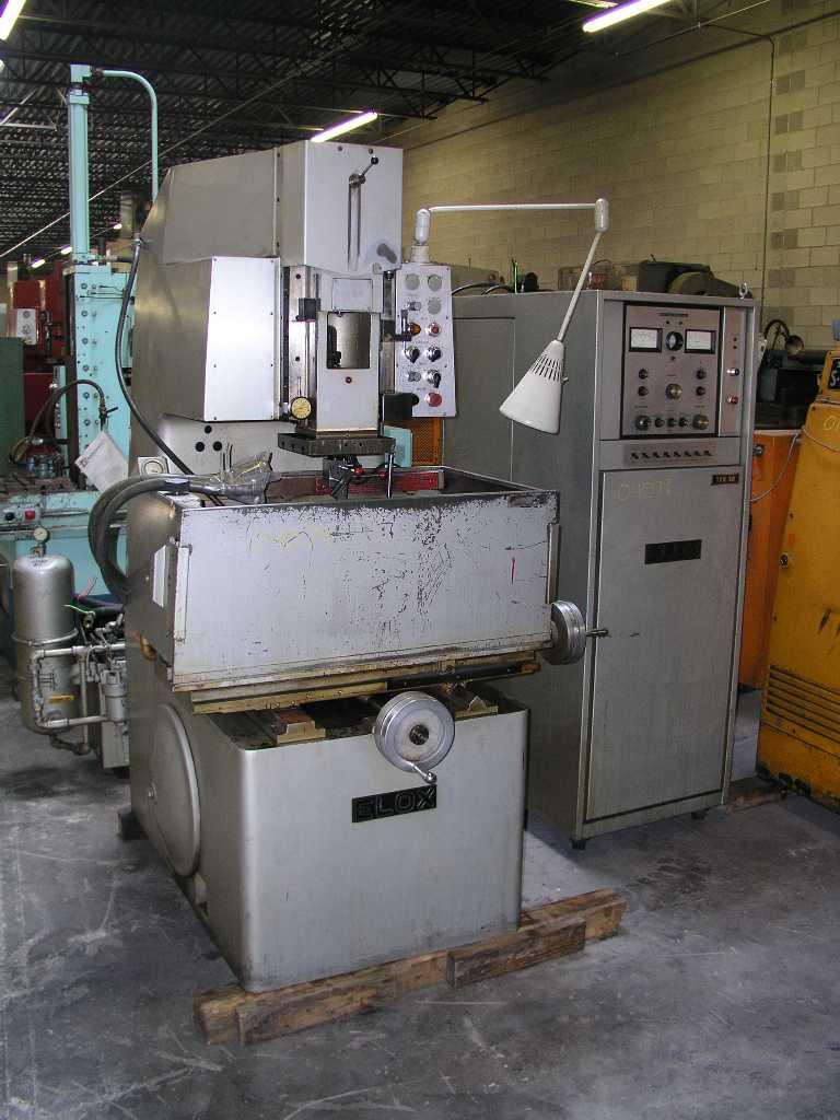 Best Used Machinery Co Elox Edm Machine Model 8 62